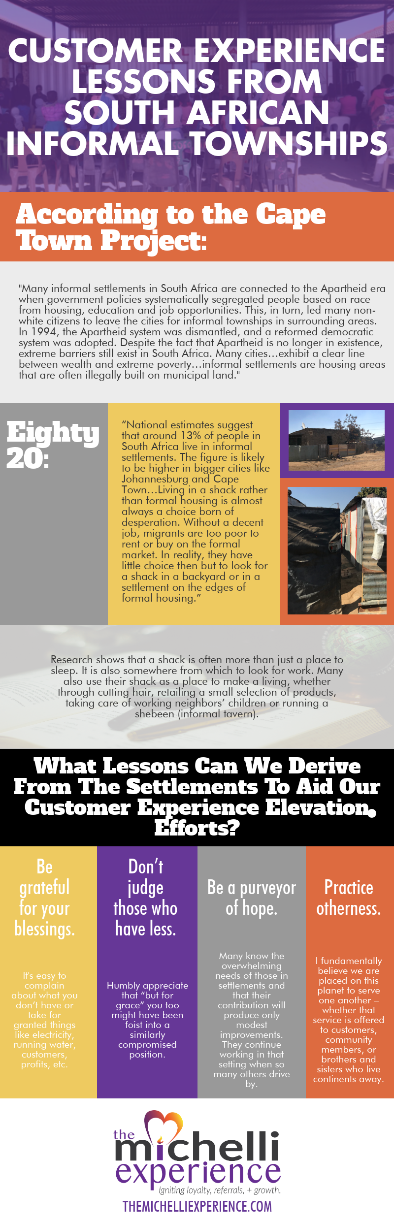 customer experience lessons from south africa informal townships infographic