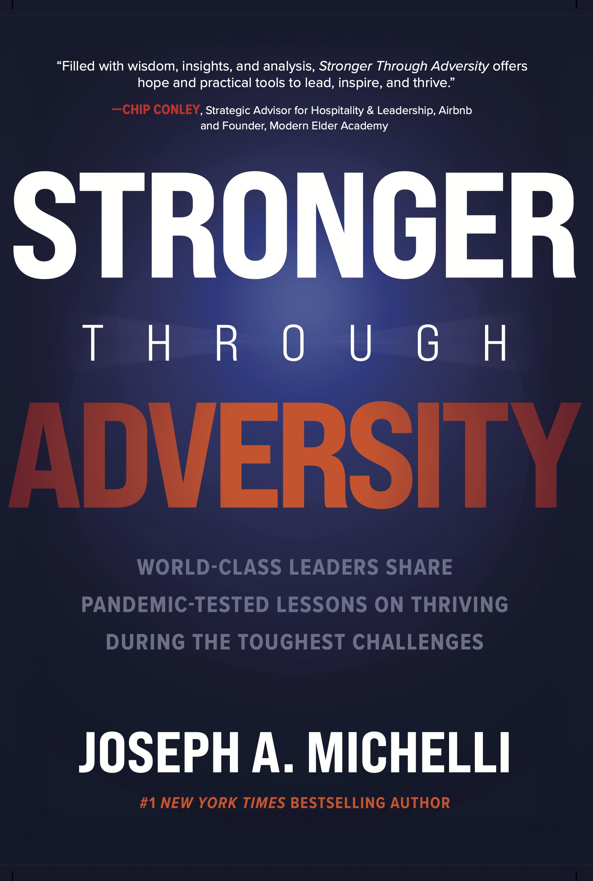 stronger through adversity book