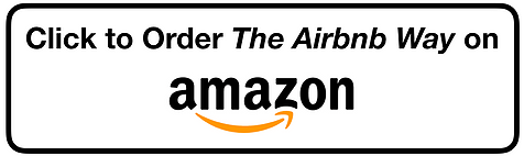 The Airbnb Way Amazon button